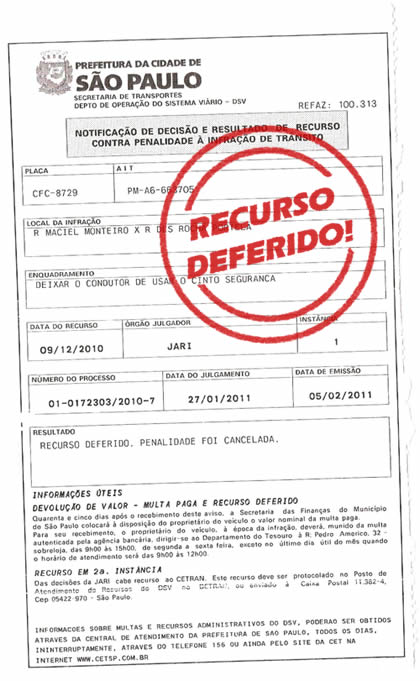 Recurso Deferido